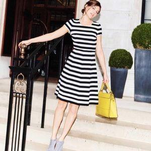Boden Maggie Ottoman Striped Dress